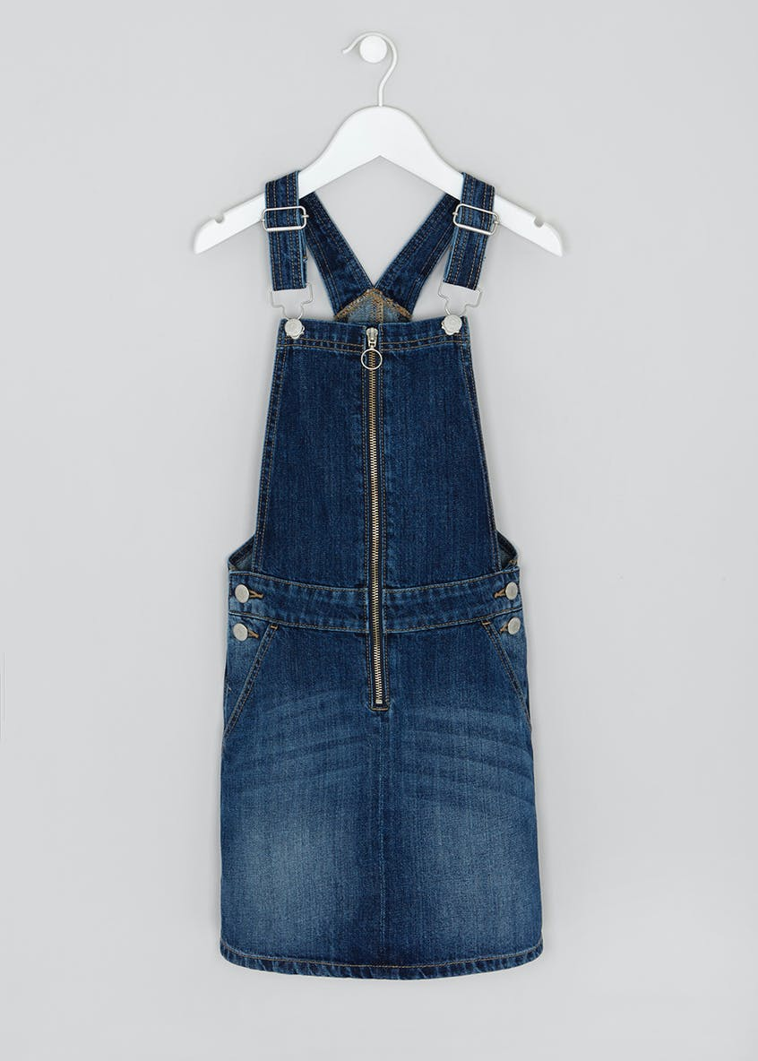 Girls Candy Couture Denim Pinafore (9-16yrs)