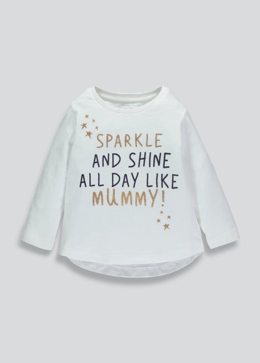 Unisex Mummy Slogan T-Shirt (3mths-6yrs)