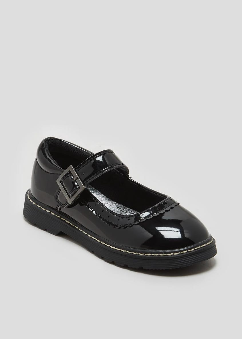 Girls Patent Mary Jane School Shoes (Younger 10-Older 5)