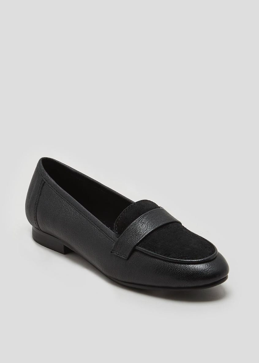Soleflex Real Leather Penny Loafers