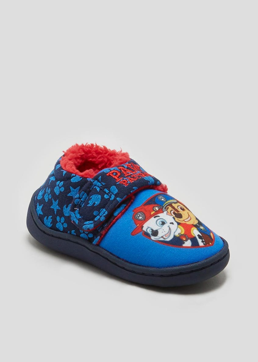 Kids Paw Patrol Light Up Slippers (Younger 4-12)