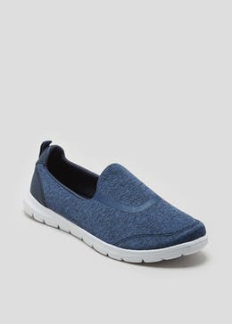 Memory Foam Slip On Pumps