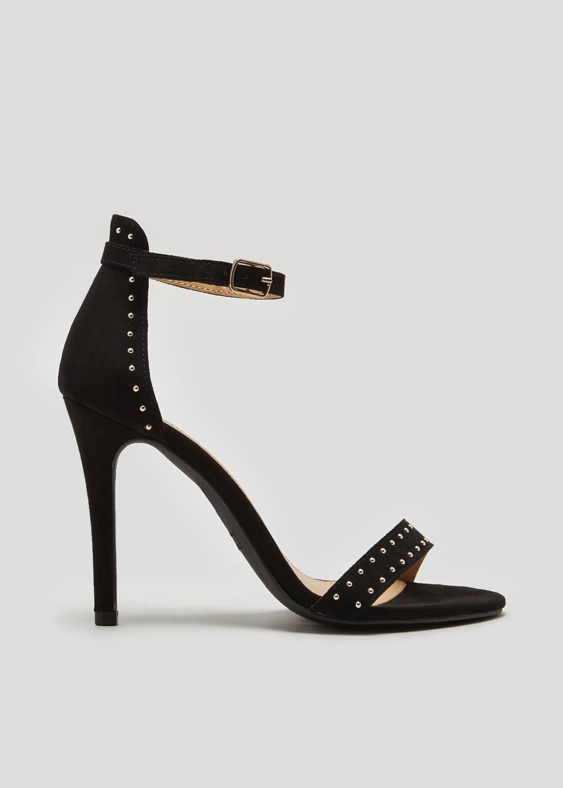 Wide Fit Studded Heels