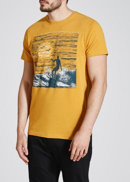 Surfer Graphic Print T-Shirt