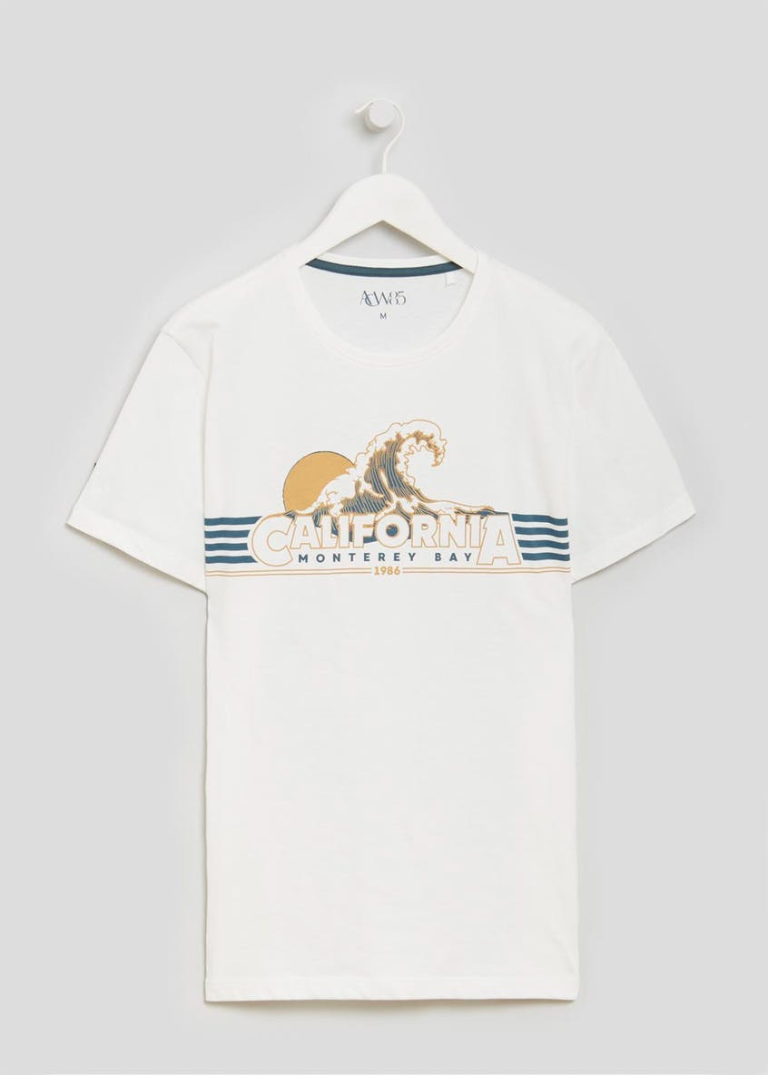 California Graphic Print T-Shirt