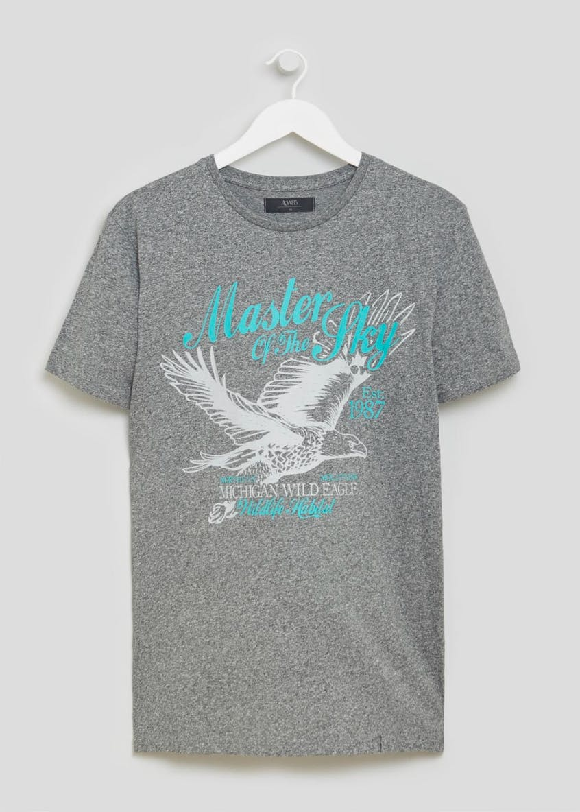 Eagle Graphic Print T-Shirt