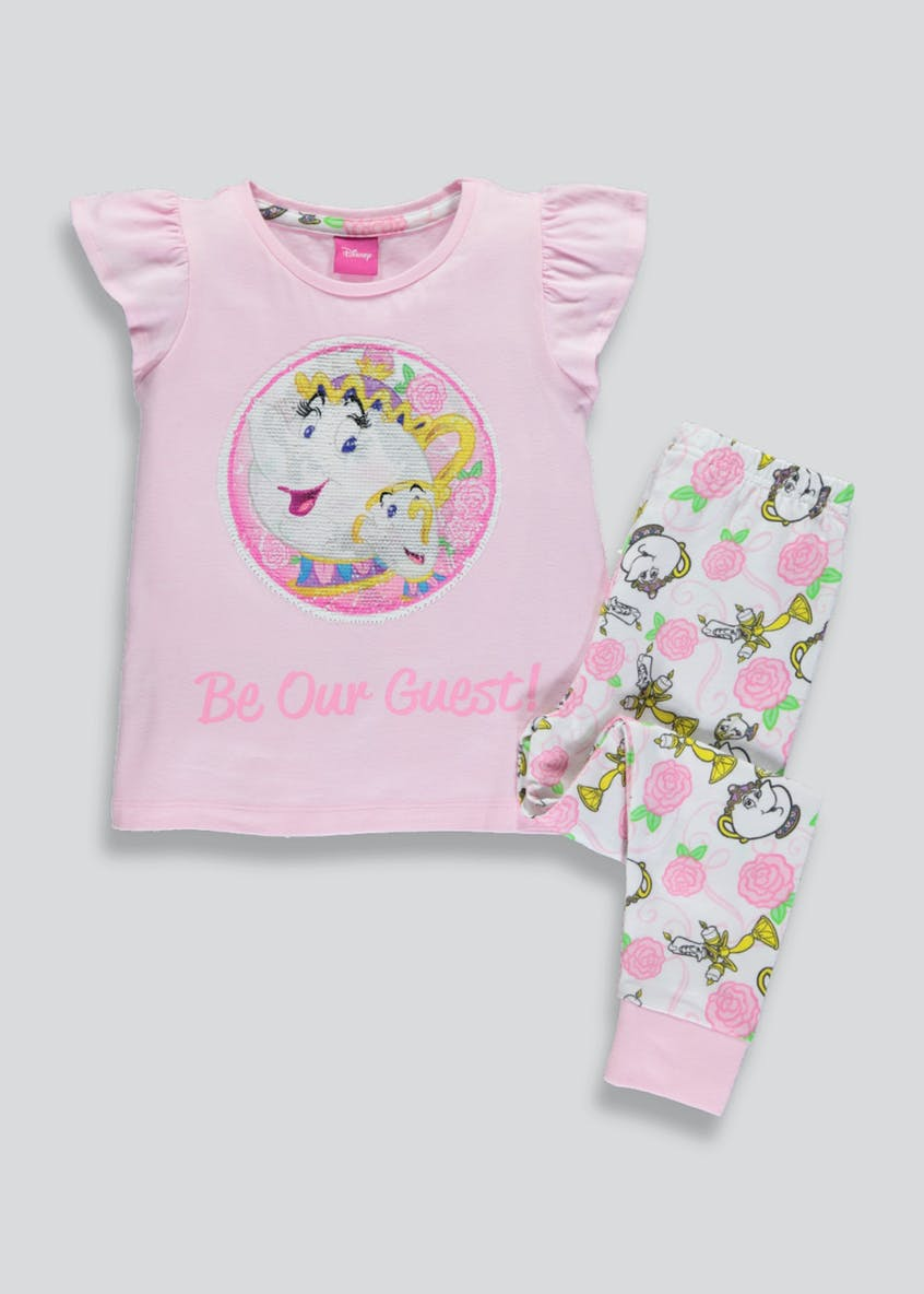 Kids Beauty and the Beast Chip Pyjama Set (4-9yrs)