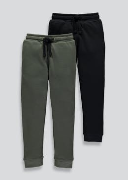 2 Pack Jogging Bottoms (4-13yrs)