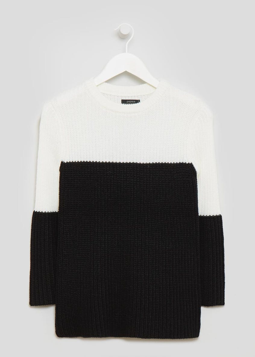 Ribbed Bell Sleeve Jumper