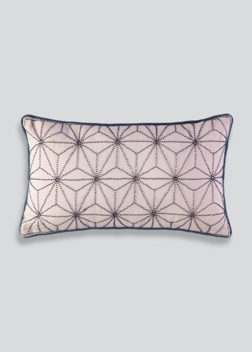 Beaded Pattern Cushion (50cm x 30cm)