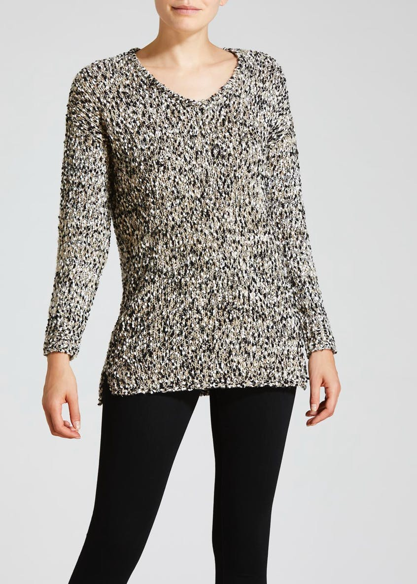 Slub Yarn Tunic Jumper