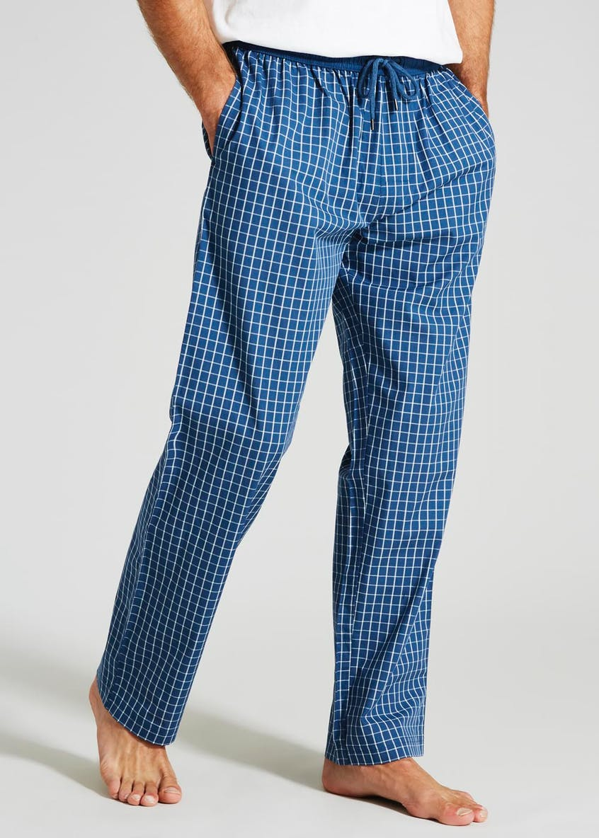 Check Loungewear Bottoms