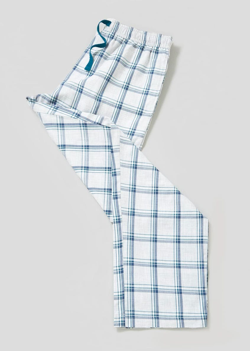 Melange Check Loungewear Bottoms