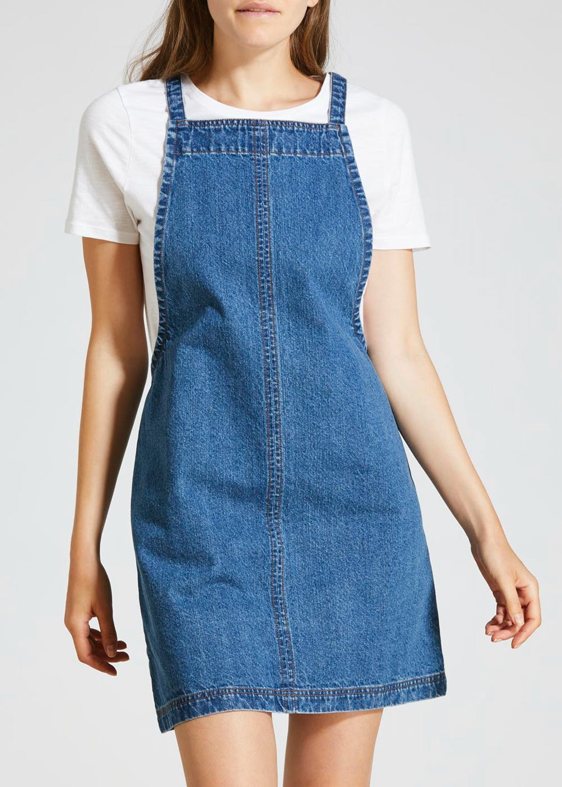 Denim Pinafore - Midwash