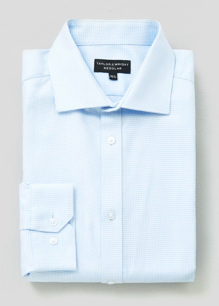 100% Cotton Regular Fit Puppytooth Shirt