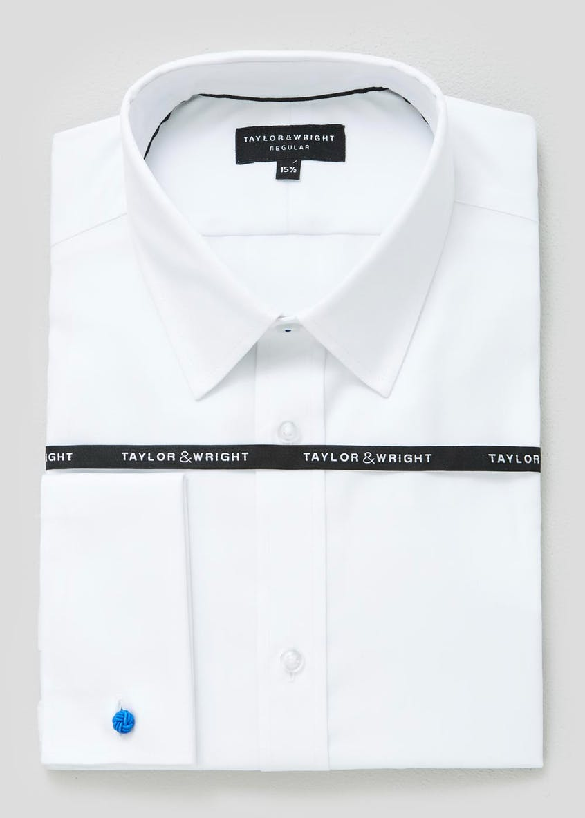 Premium Easy to Iron Cotton Double Cuff Shirt
