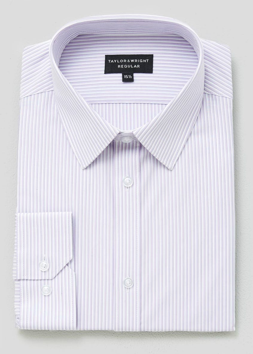 100%  Cotton Regular Fit Stripe Shirt