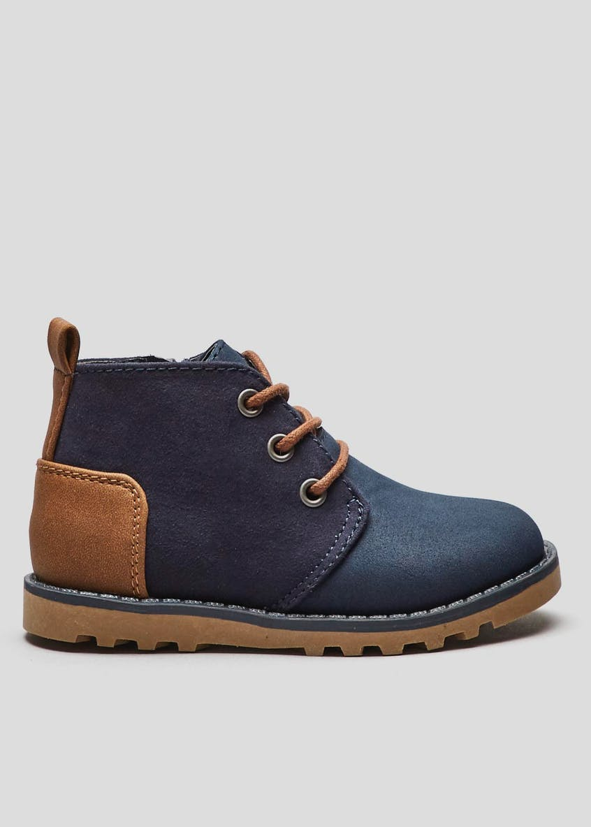 Boys Lace Up Boots (Younger 4-12)