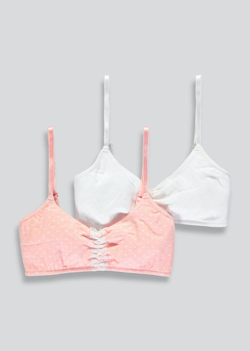 Girls Candy Couture Non-Woven Bras (8-13yrs)