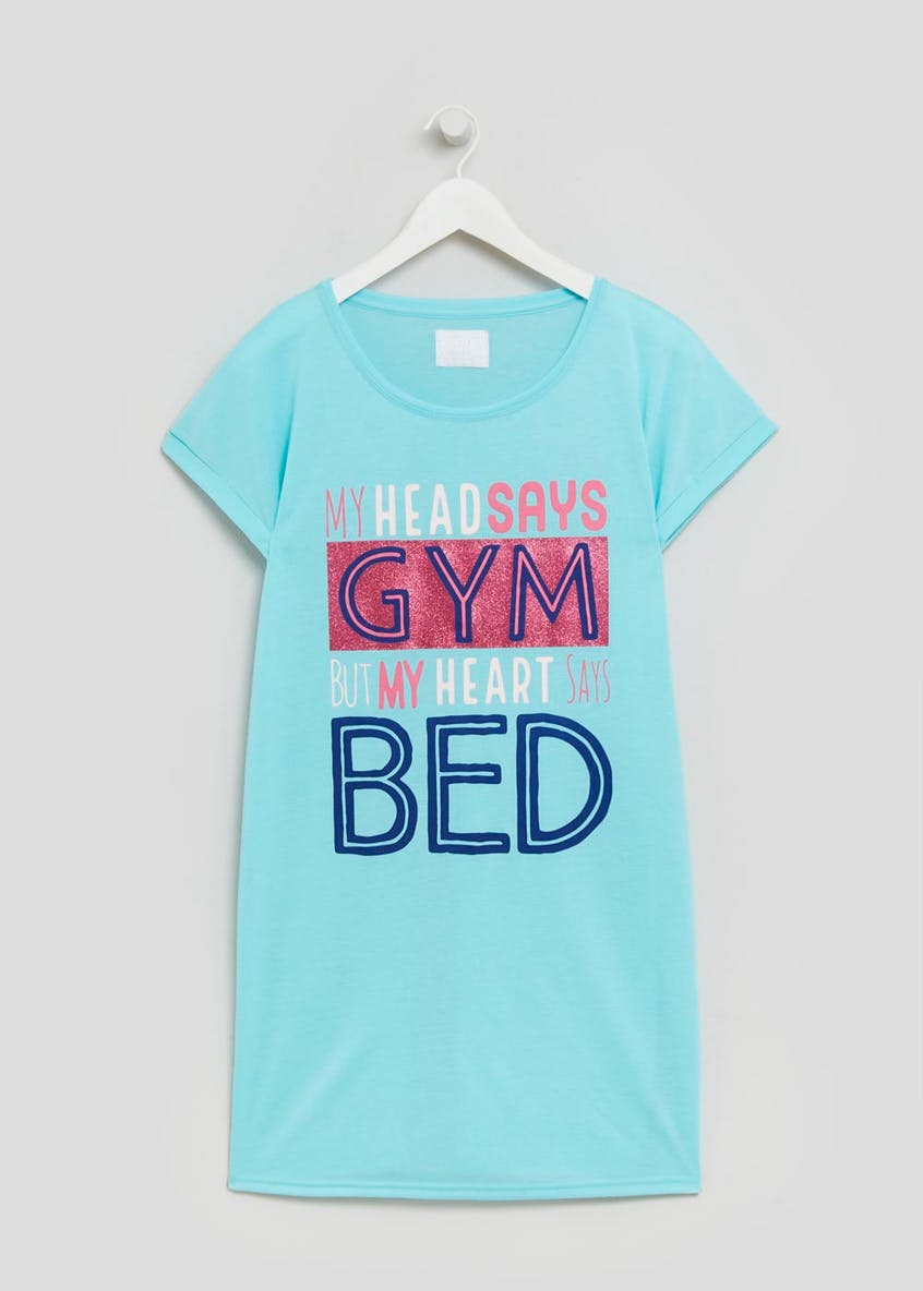 Gym Slogan Nightie