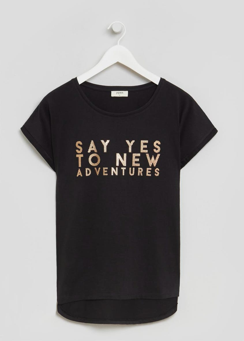 Adventure Slogan T-Shirt