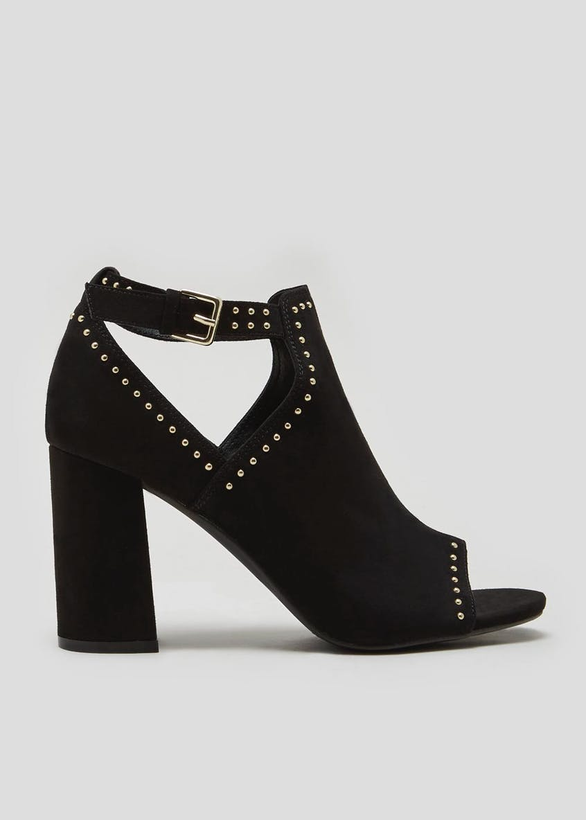Studded Shoe Boots