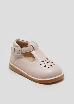 Girls Stitch T-Bar Ballet Shoes (Younger 3-6)