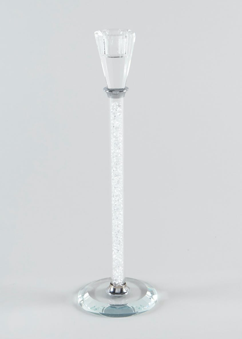 Beaded Glass Candlestick (30cm)