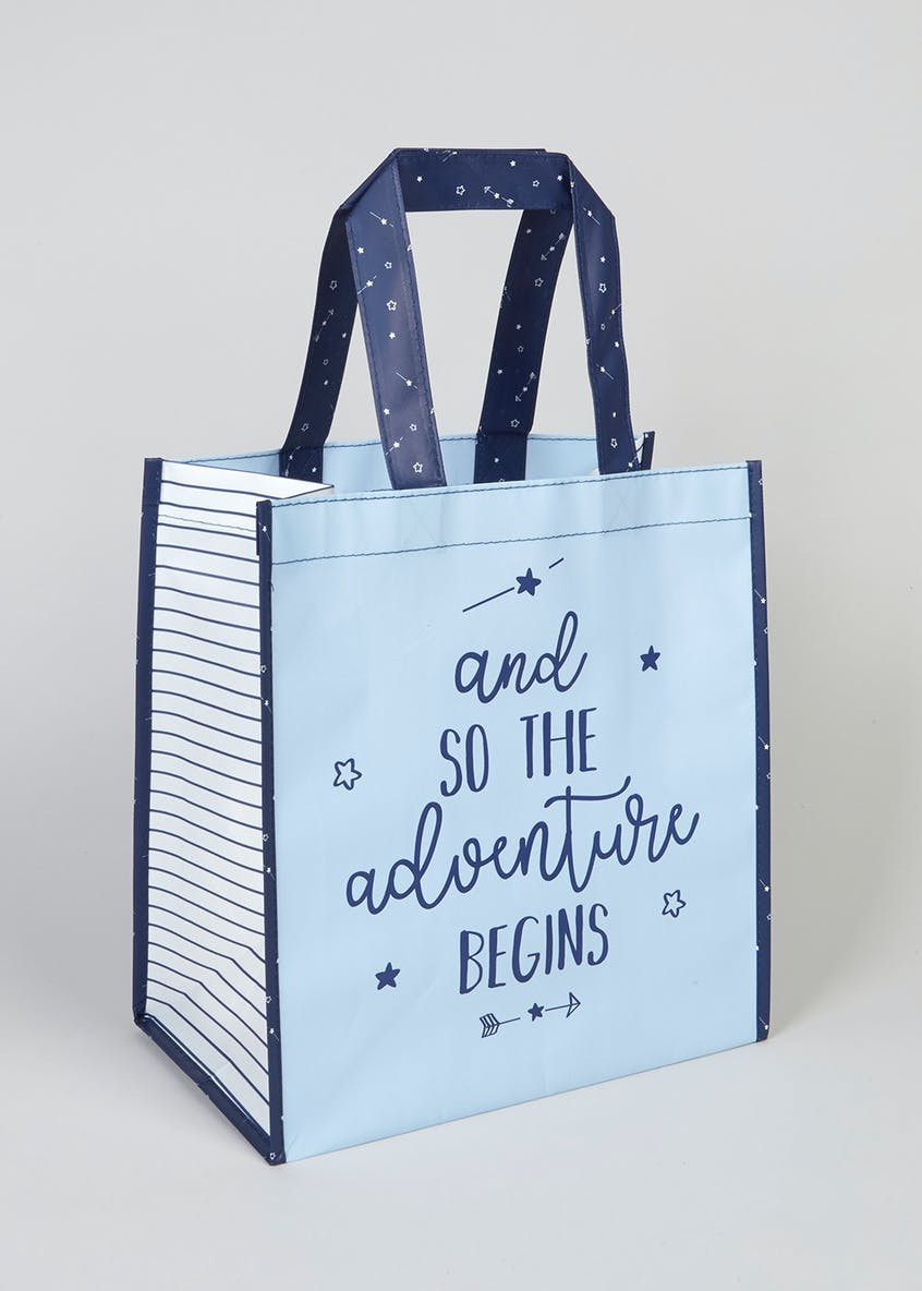 Adventure Slogan Gift Bag