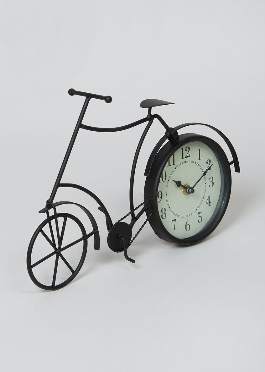 Clock Bike Ornament (24cm x 21cm)