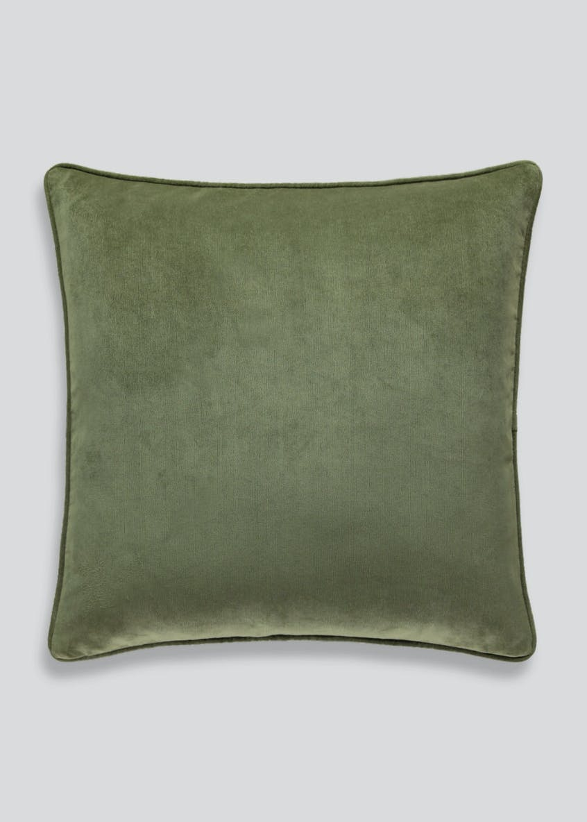 Large Velour Cushion (58cm x 58cm)