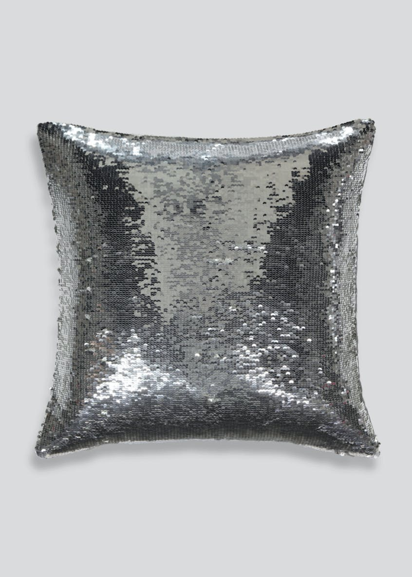 Reversible Sequin Cushion (45cm x 45cm)