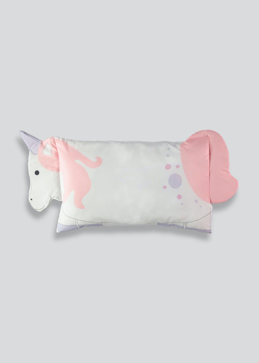Kids Unicorn Shape Pillowcase