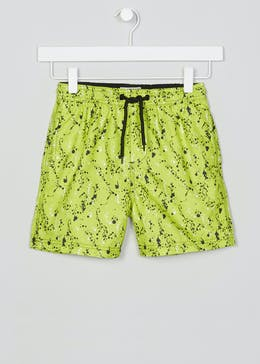 Boys Splatter Swimming Shorts (4-13yrs)