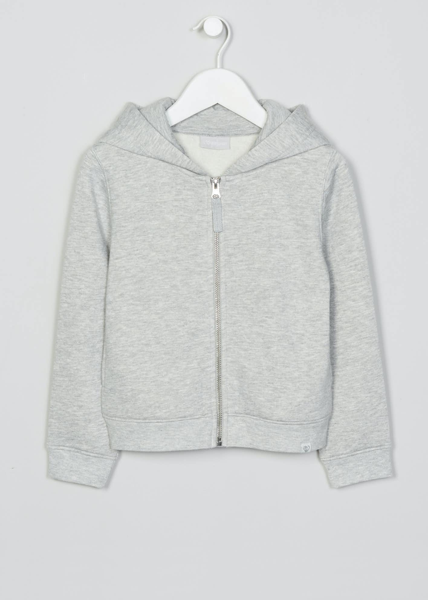 Girls Zip Through Hoodie (4-13yrs)