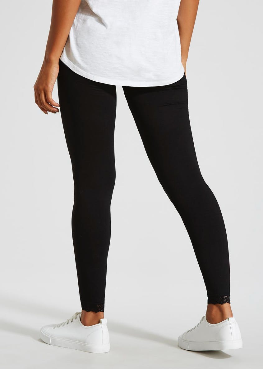 Lace Ankle Leggings