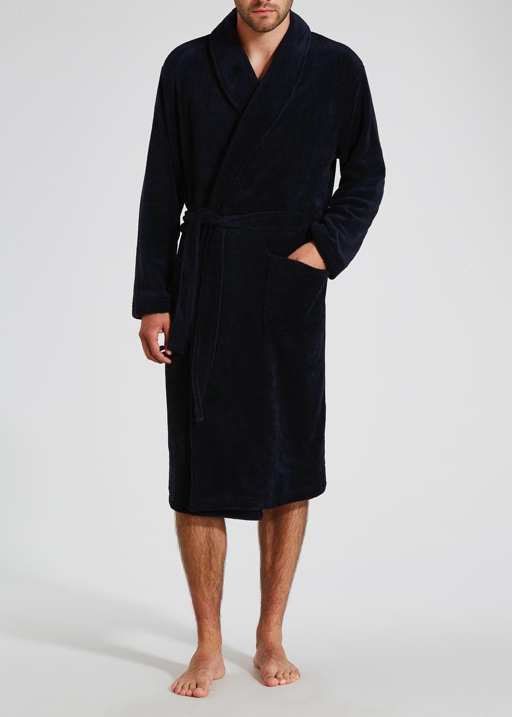 Mens Dressing Gowns Bath Robes Fluffy Luxury Matalan