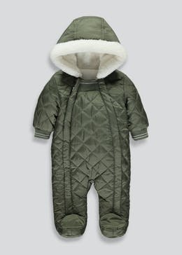 Unisex Quilted Snowsuit (Tiny Baby-18mths)