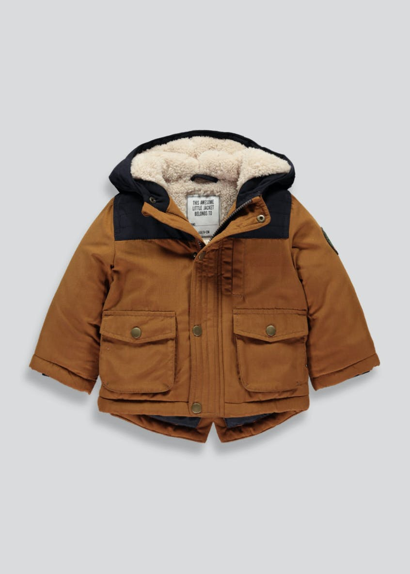 Boys Hooded Coat (9mths-6yrs)