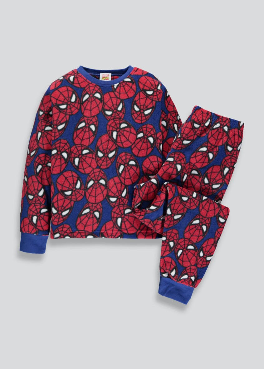 Kids Spider-Man Micro Fleece Pyjama Set (2-9 yrs)