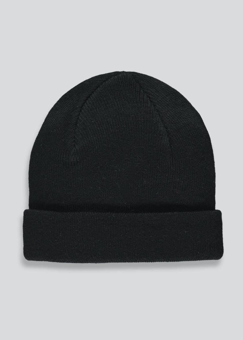 Kids Turn Up Beanie Hat (One Size)