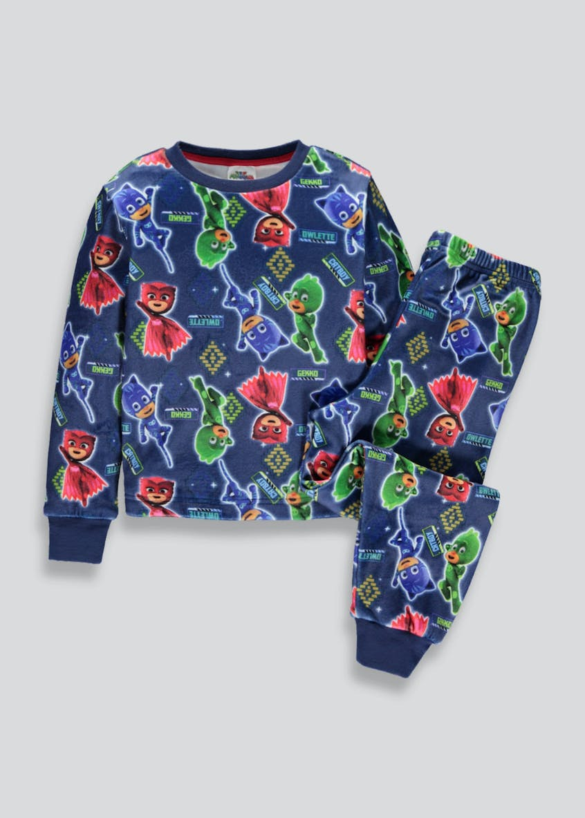 Kids PJ Masks Fleece Pyjama Set (2-7yrs)