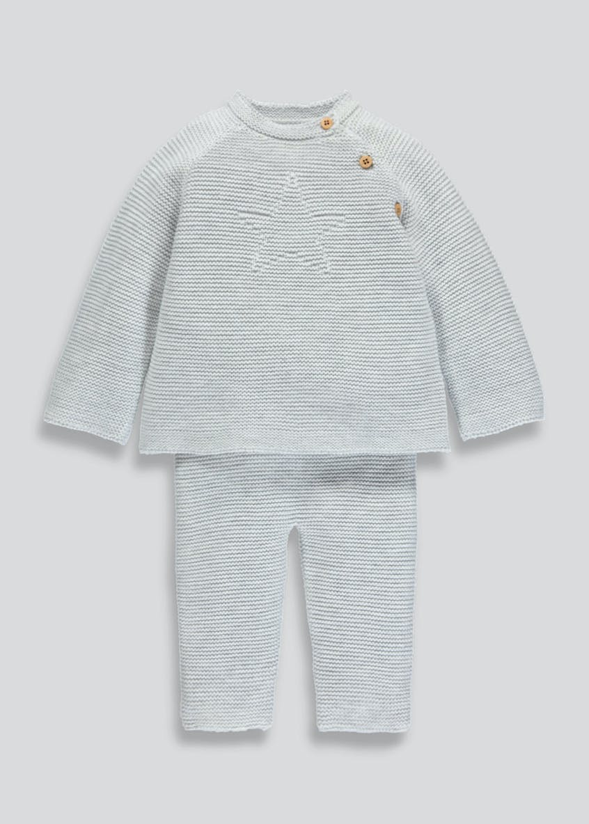 Unisex Knitted Set (Tiny Baby-18mths)