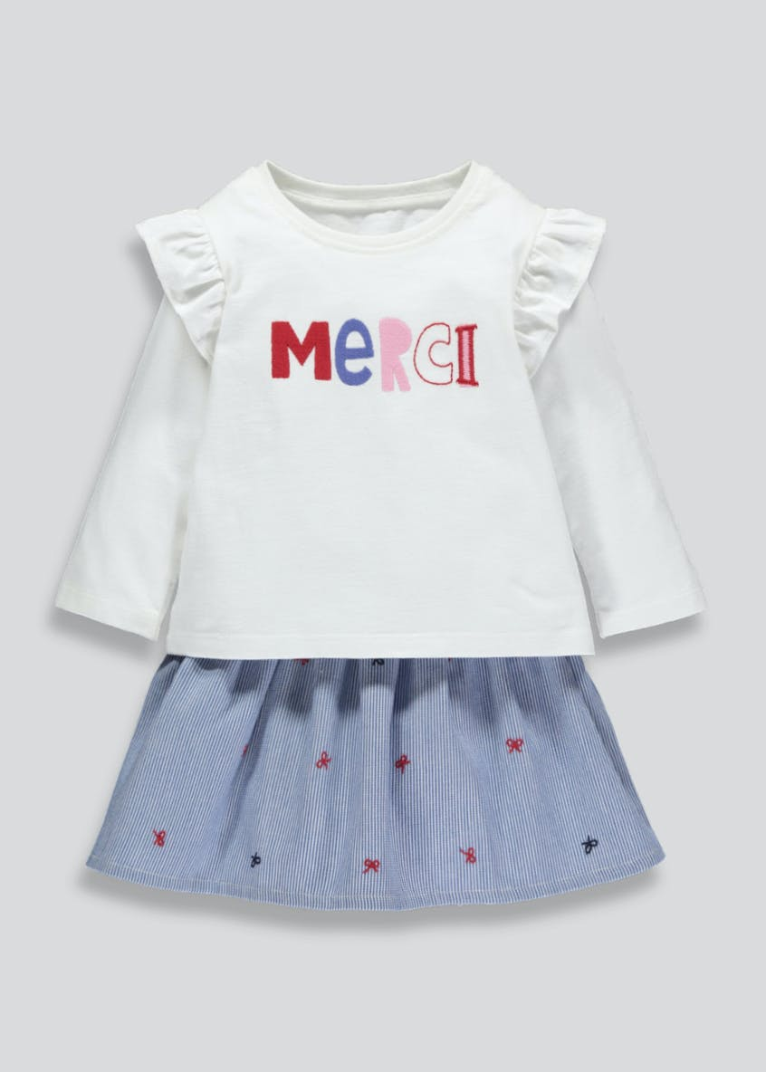Girls T-Shirt & Skirt Set (3mths-6yrs)
