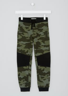 Boys Cut & Sew Camo Jogging Bottoms (4-13yrs)
