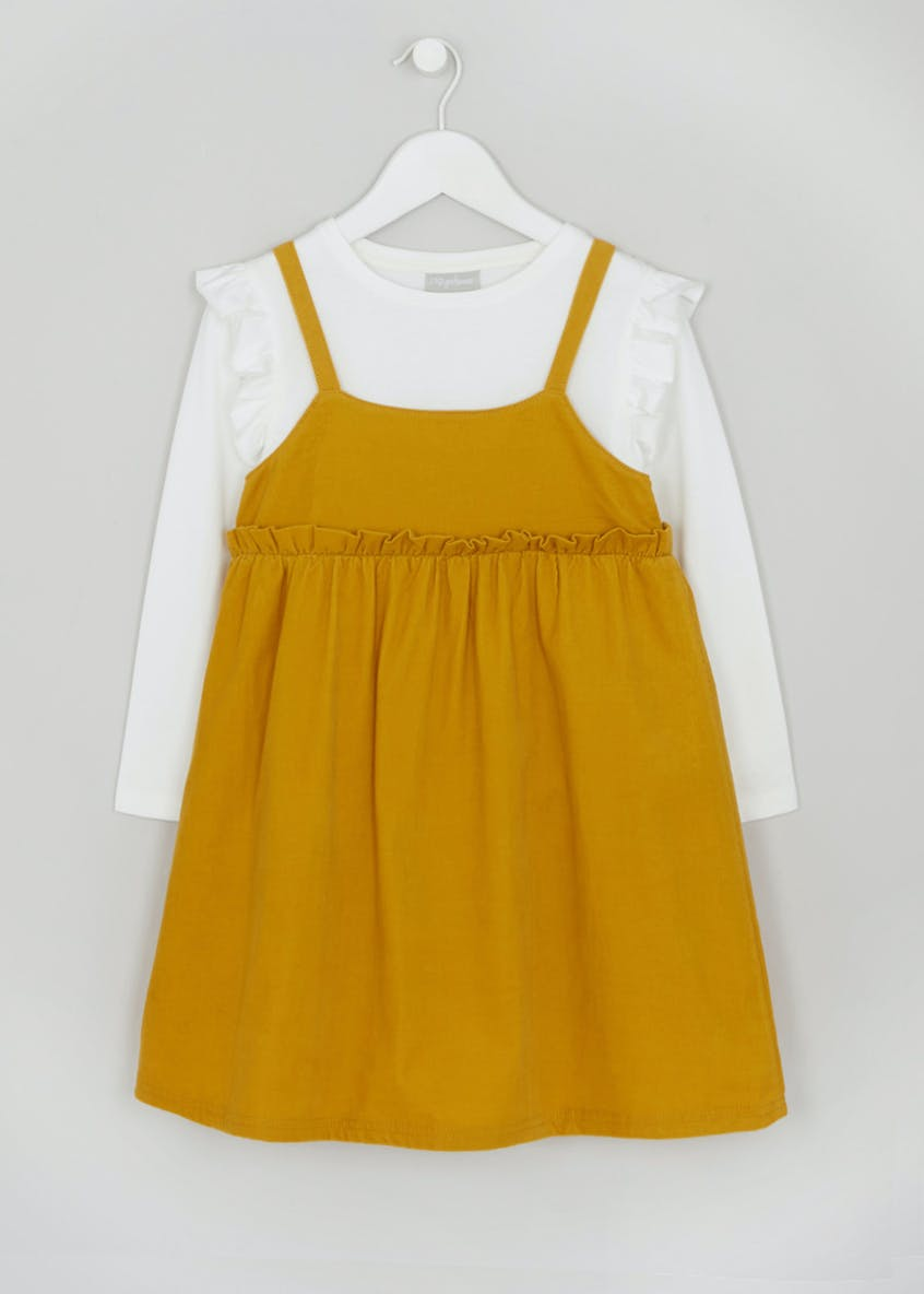 Girls Cord Pinafore & Top Set (4-13yrs)