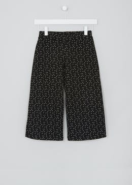Girls Candy Couture Spot Print Culottes (9-16yrs)