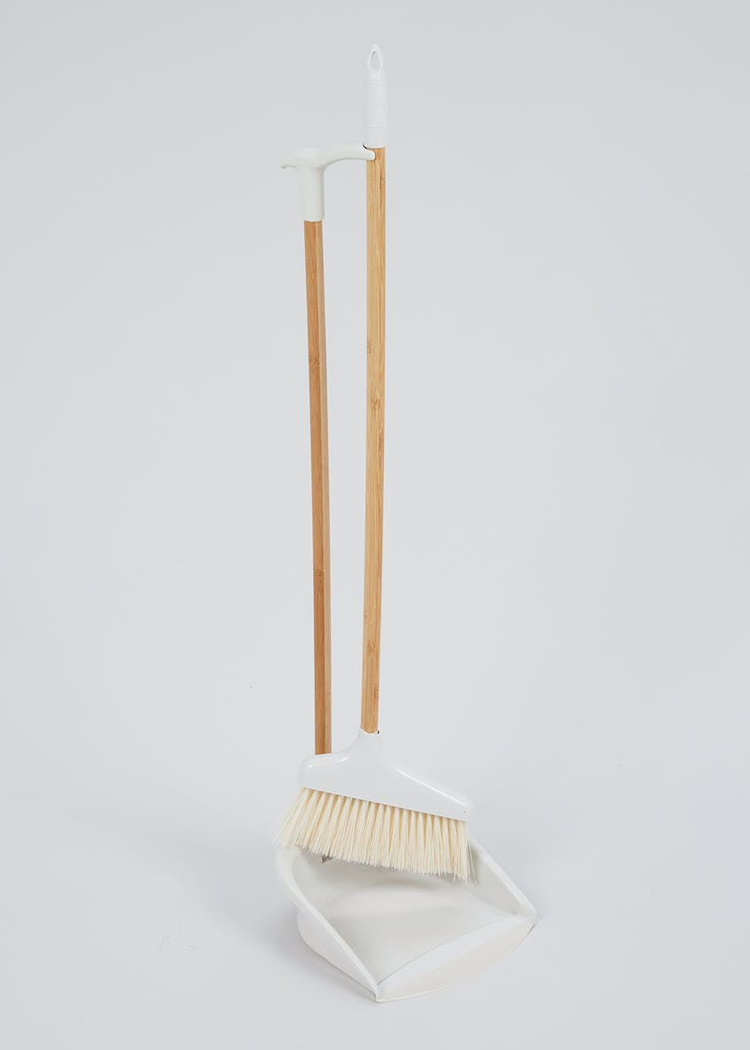 Long Handle Dustpan & Brush Set (76cm x 23cm)