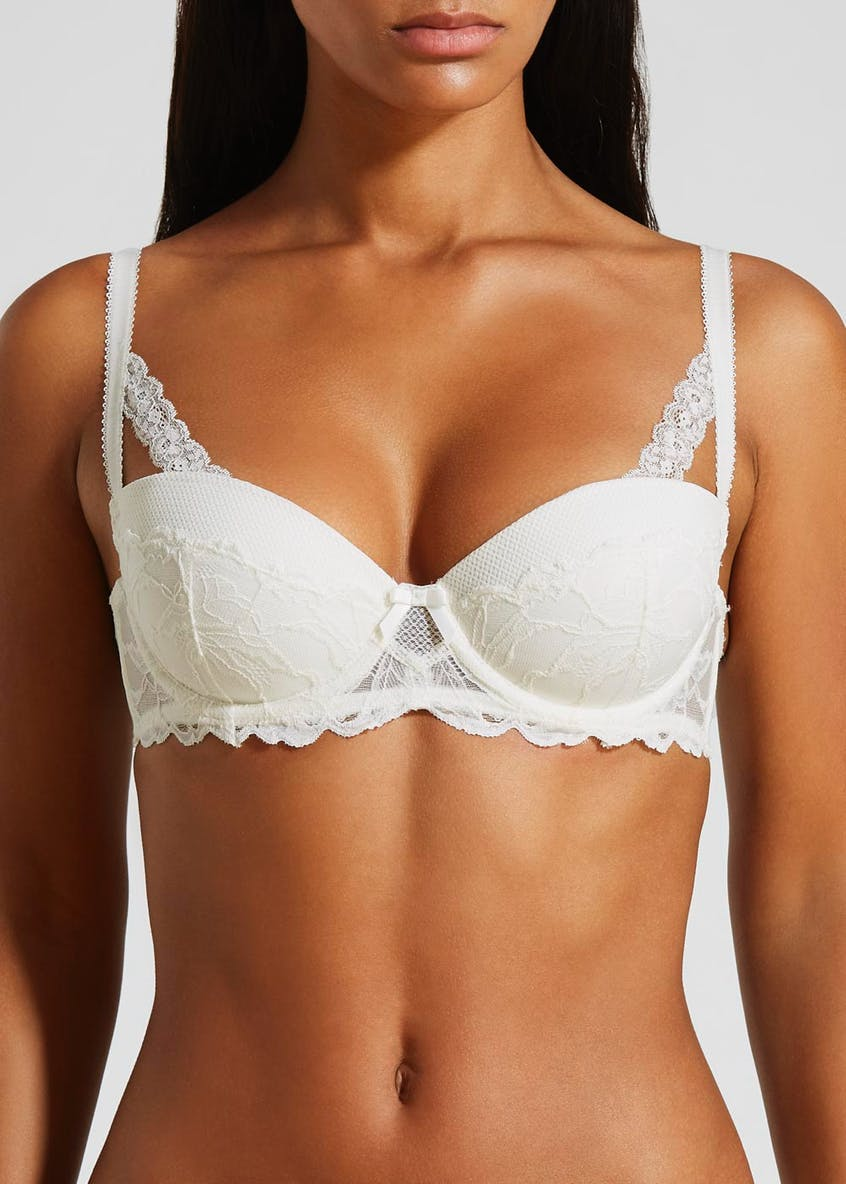 Lace Textured Bra