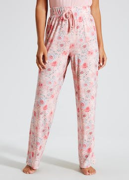 Floral Wide Leg Pyjama Bottoms